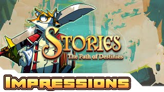 Buttkicking For Goodness! - Stories: The Path of Destinies Gameplay - Letsplay Part 1