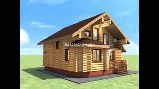мансардный дом 9*10 из оцб д30(В доме тамбур, топочная, три спальни, два санузла, кухня, зал. Заказать проект или дом http://consult-build.narod.ru/, 2016-06-17T08:29:38.000Z)