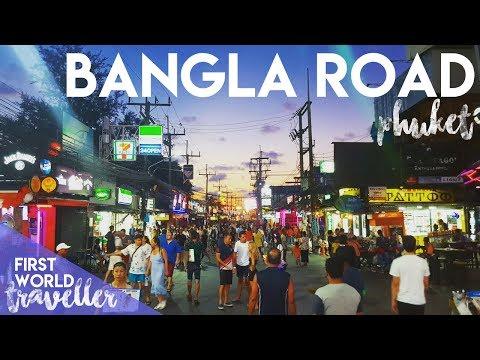 BANGLA WALKING STREET   SEXY TIME IN PHUKET, THAILAND - FIRST WORLD TRAVELLER