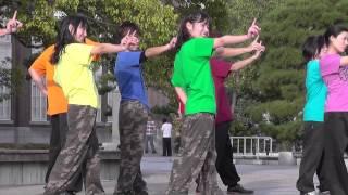 """ストリートダンス「""""Q"""" - AAA ハリケーン・リリ、ボストン・マリ」「 New Version - AAA 」"""