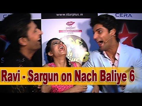Ravi and Sargun on Nach Baliye 6