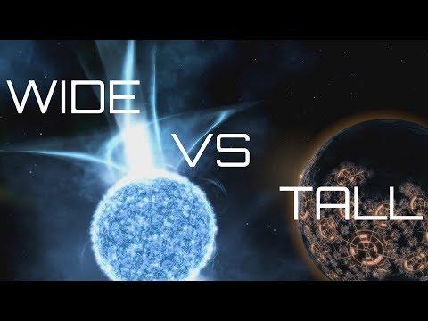 Stellaris - Tall Vs Wide Playstyles