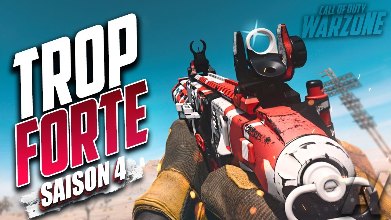 Les Nouvelles armes VECTOR & GALIL sont BEAUCOUP TROP FORTE !! Saison 4 Warzone