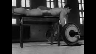 Speed and power exercises for wreslers - Soviet time documentary