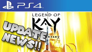 Legend of Kay HD News Update!