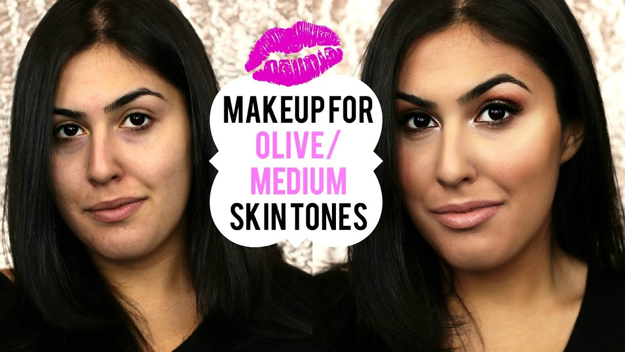Makeup Tutorial For Olive Medium Skin Tones ♡ Makeup On A