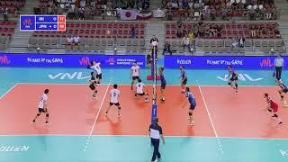 Unbelievable Rally!!! Iran vs. Japan [VNL]