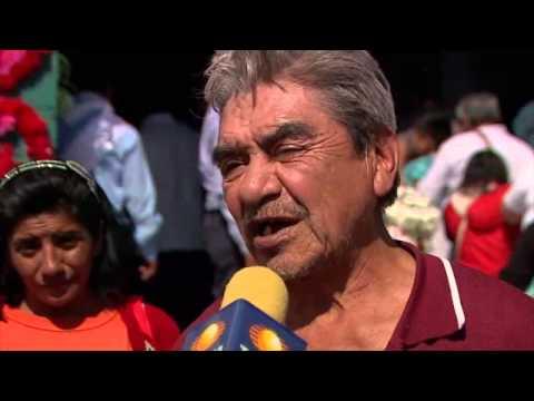 Noticieros - Visitan miles de peregrinos el santuario de Chalma