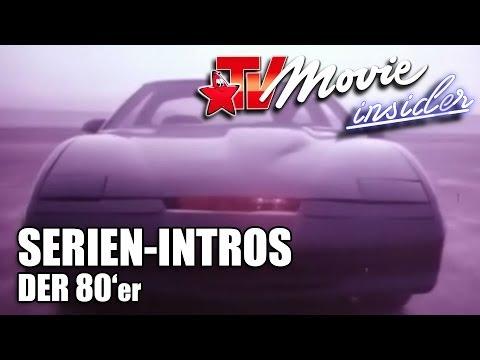 Serien Intro 80er - Knight Rider, Airwolf, Magnum, A-Team, C