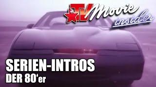 Serien Intro 80er - Knight Rider, Airwolf, Magnum, A-Team, Colt für alle Fälle