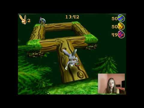 Gameplay Rosso Rabbit in trouble Part 5 / Прохождение игры Побег из крольчатника Часть 5
