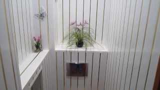 Отделка туалета  ПВХ панелями(РЕМОНТ И ОТДЕЛКА В УЛЬЯНОВСКЕ - https://www.youtube.com/user/themostfamousMASTER Отделка стен санузла ПВХ панелями ..., 2013-09-27T21:18:10.000Z)