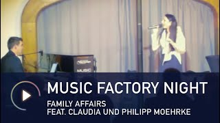 Music Factory Night am 31.10.2013 - Family Affairs (Claudia und Philipp Moehrke)
