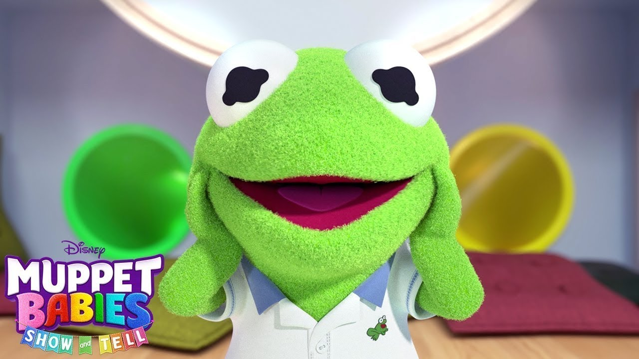 kermit s show and tell muppet babies disney junior youtube