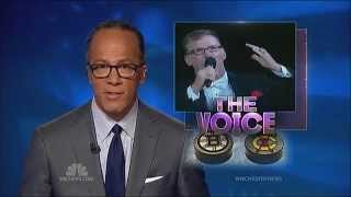 "Jim Cornelison NBC Nightly News ""Anthem Singer"""