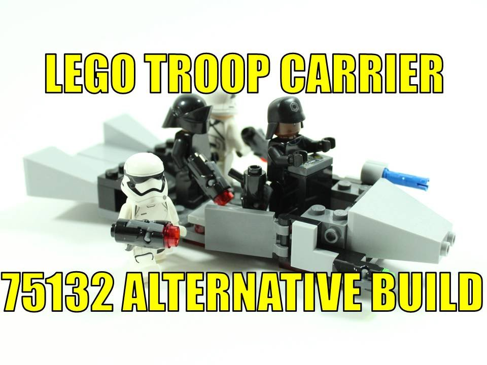 Lego First Order Alternative Build
