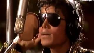 Michael Jackson - We Are The World Recording (1985)