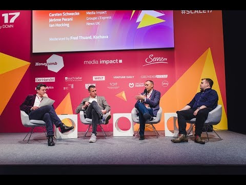 SCALE17 – Breaking into the ecosystem with Groupe L'Express, Media Impact & News UK