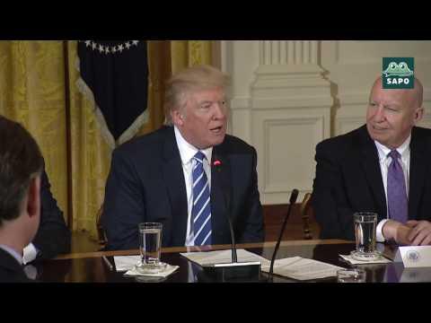 (EN ESPAÑOL) - Trump se dirige a el equipo del Coordinador de la Bancada Mayoritaria (03/07/17)
