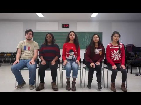 White Winter Hymnal (PTX cover) - McMaster Absolute Pitch