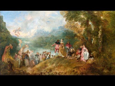 Jean-Antoine Watteau - Peintre des fêtes galantes / Le Pèlerinage à Cythère - Artracaille 29-10-2013
