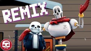 """Sans and Papyrus Song [REMIX] by JT Music (feat. DHeusta) - """"To The Bone"""" Video"""