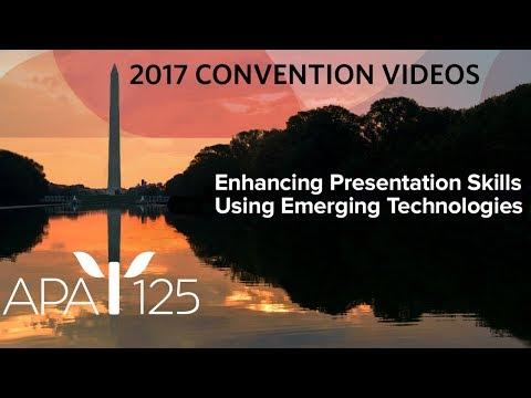 Enhancing Presentation Skills Using Emerging Technologies