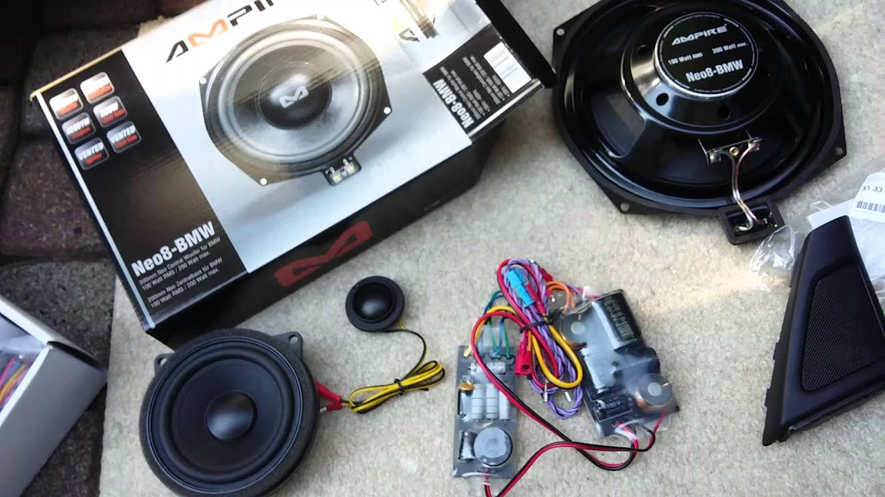 bmw f10 speaker and woofer upgrade modification hifi. Black Bedroom Furniture Sets. Home Design Ideas