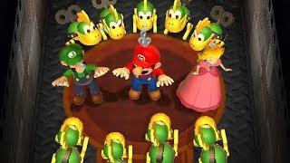 Mario Party 9 Step It Up - Mario vs Birdo vs Luigi vs Peach Master Difficulty Gameplay   GreenSpot