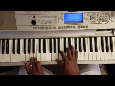 "DRU HILL "" IN MY BED"" Piano Tutorial"