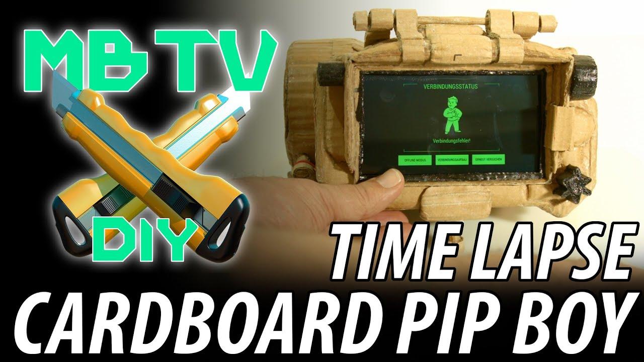 Get the Pip-Boy 3000 Deluxe Bluetooth Edition - YouTube