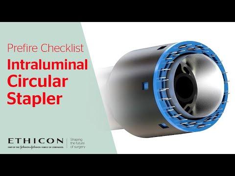 Intraluminal Circular Stapler - Prefire Checklist