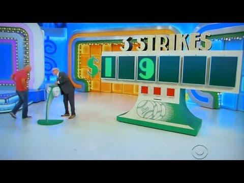 The Price is Right - 3 Strikes - 5/15/2017