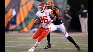 Here's why the Chiefs released C J  Spiller again before kickoff against Patriots