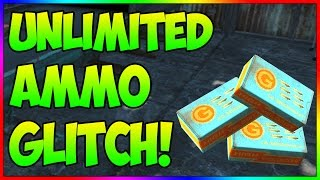 UNLIMITED Ammo Glitch! After Patch! (Fallout 4)
