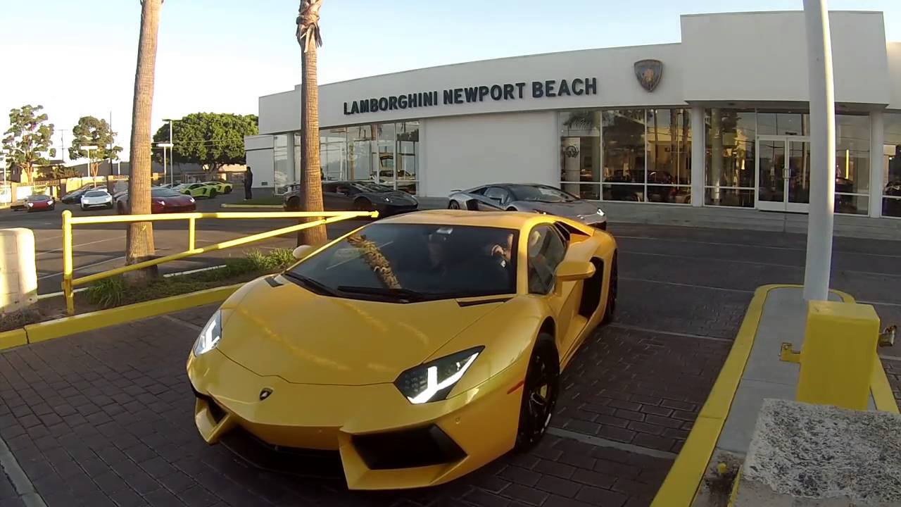2016 vip 700 exit - lamborghini newport beach - youtube
