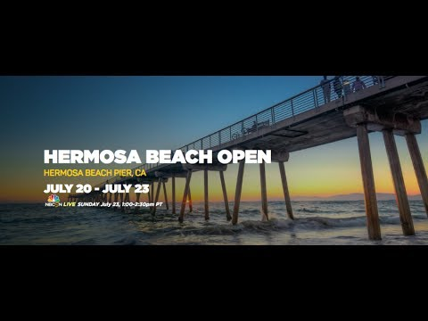 2017 AVP Hermosa Beach Men's Open Loomis & McKibbin vs. Drost & Frishman