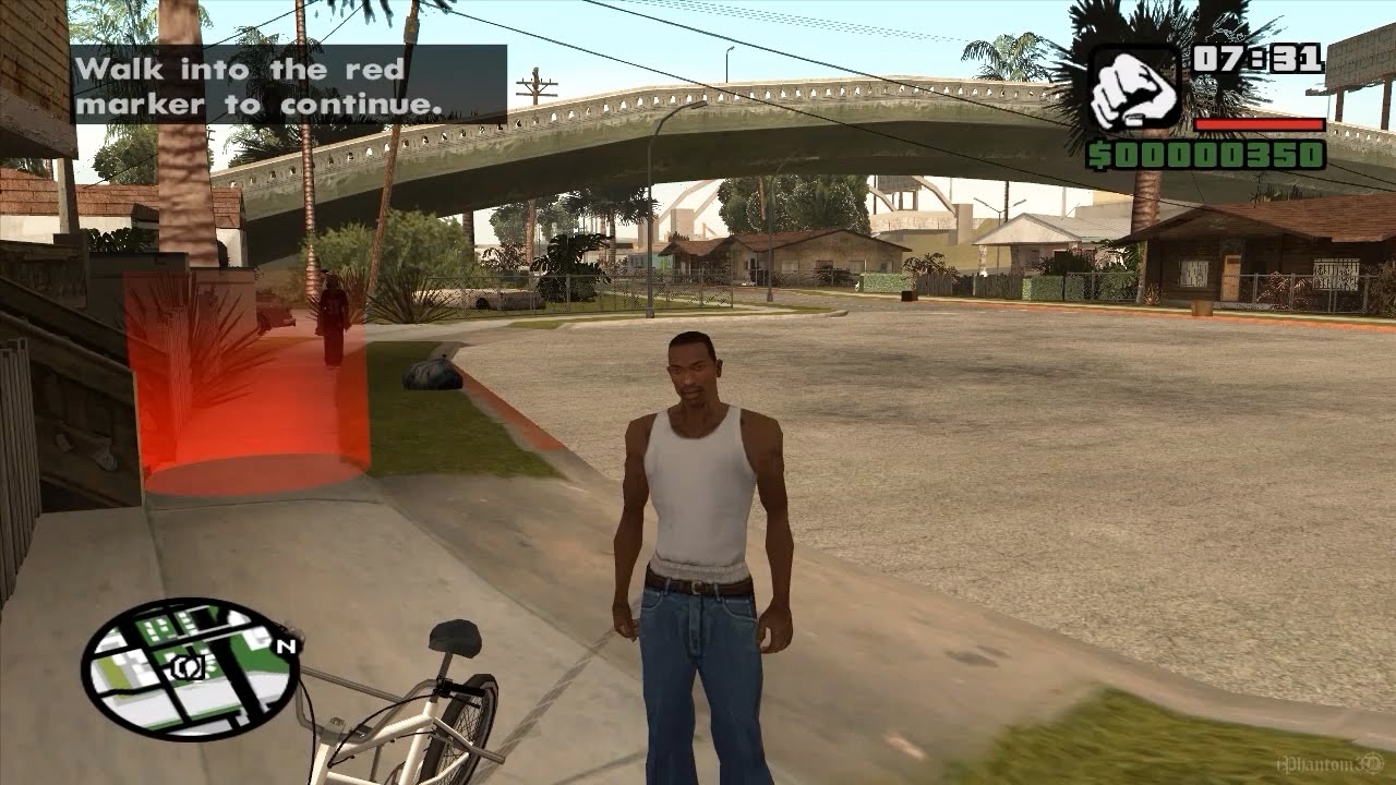GTA: San Andreas - Intro & Mission 1 Gameplay - YouTube