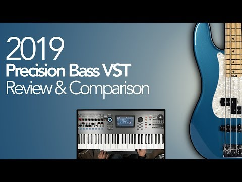 Best Bass Vst 2019 2019 Precision Bass VST Review & Comparison   YouTube