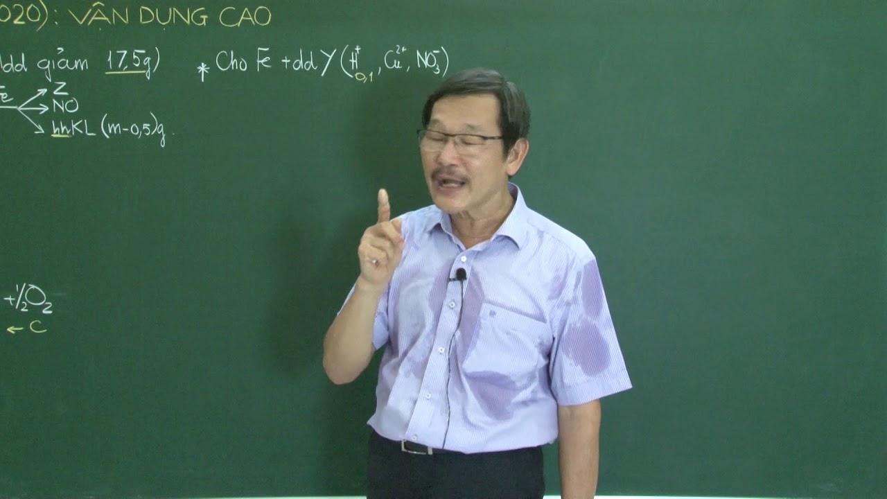 hóa học lớp 12 – HƯỚNG DẪN GIẢI ĐỀ MINH HỌA đề thi TN THPT 2020 , MÔN HÓA ( PHẦN 3)
