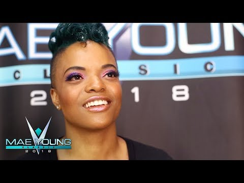 Aerial Monroe can't wait to feel the love of the WWE Universe: WWE Exclusive, Sept. 12, 2018