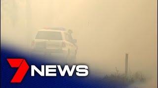Three Entire Suburbs Evacuated As Bushfire Rages In Cooroibah    7news