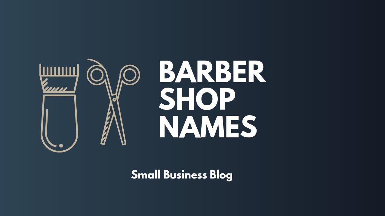 Cool Barbershop Names Ideas Youtube
