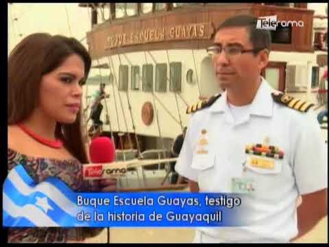 Buque Escuela Guayas, testigo de la historia de Guayaquil