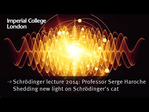 Schrödinger lecture 2014: Professor Serge Haroche - Shedding new light on Schrödingers cat