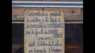 Наша весення прогулка по Ардешу Франции, город  Desaignes