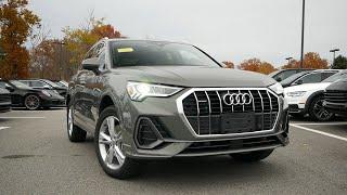 2020 Audi Q3 Premium Plus Review - Start Up, Revs, and Walk Around