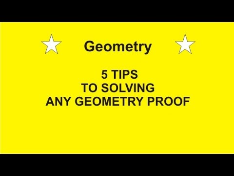 5 Tips To Solve Any Geometry Proof By Rick Scarfi