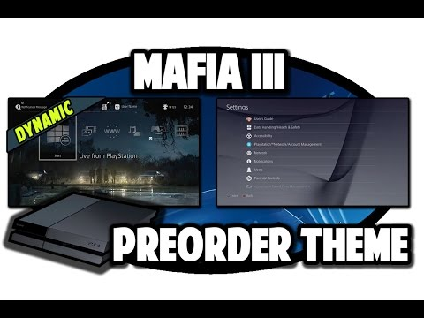 [ps4-themes]-mafia-3-dynamic-preorder-theme-video-in-60fps