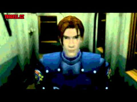 Resident Evil 2 - first Licker battle & cutscene